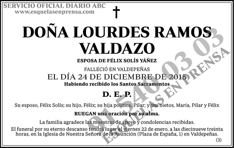 Lourdes Ramos Valdazo